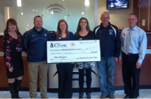Citadel LaCrosse Team and First Reliance Raise Money for the Special Operations Warrior Foundation