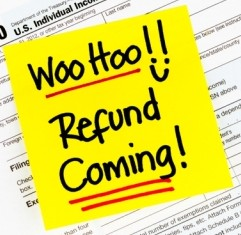 Tax Refund Coming!